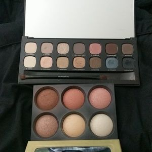 BareMinerals Bare Naturals and face palettes